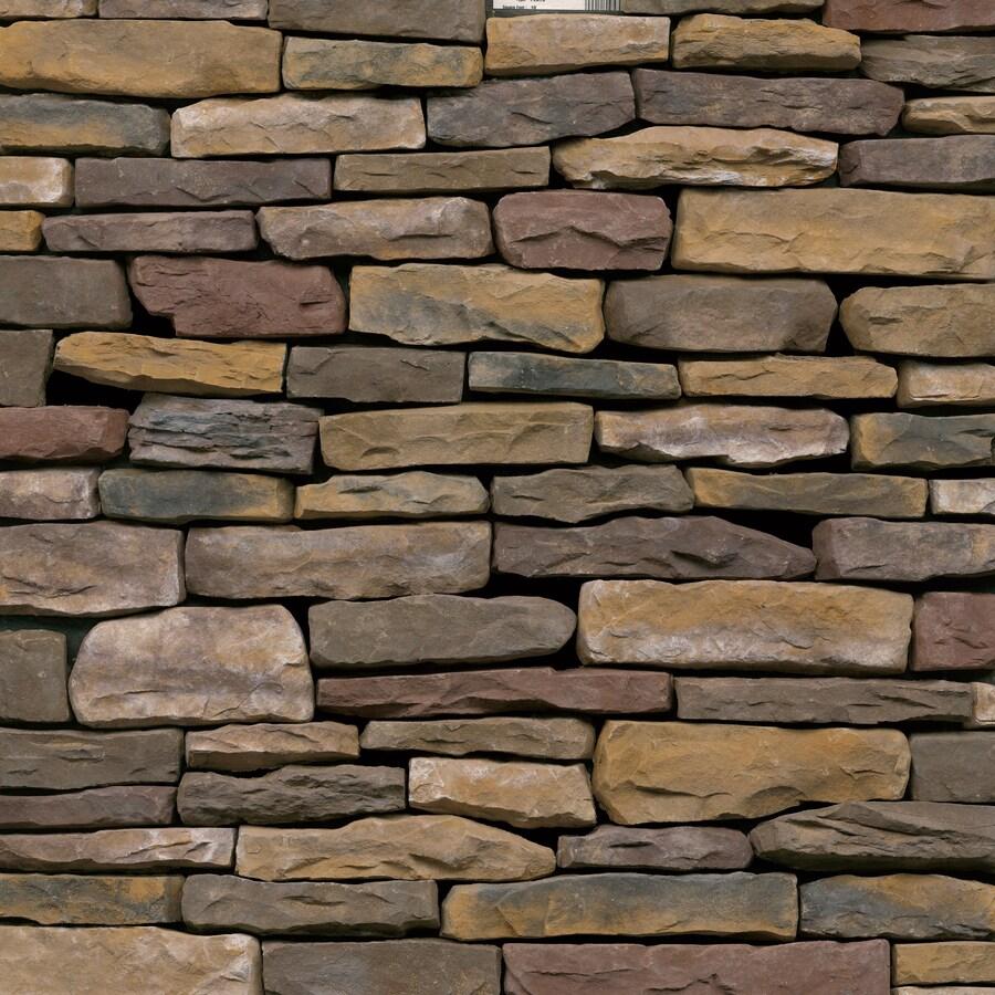 Ply Gem Stone Shadow Ledgestone 10-sq ft Sherwood Faux Stone Veneer