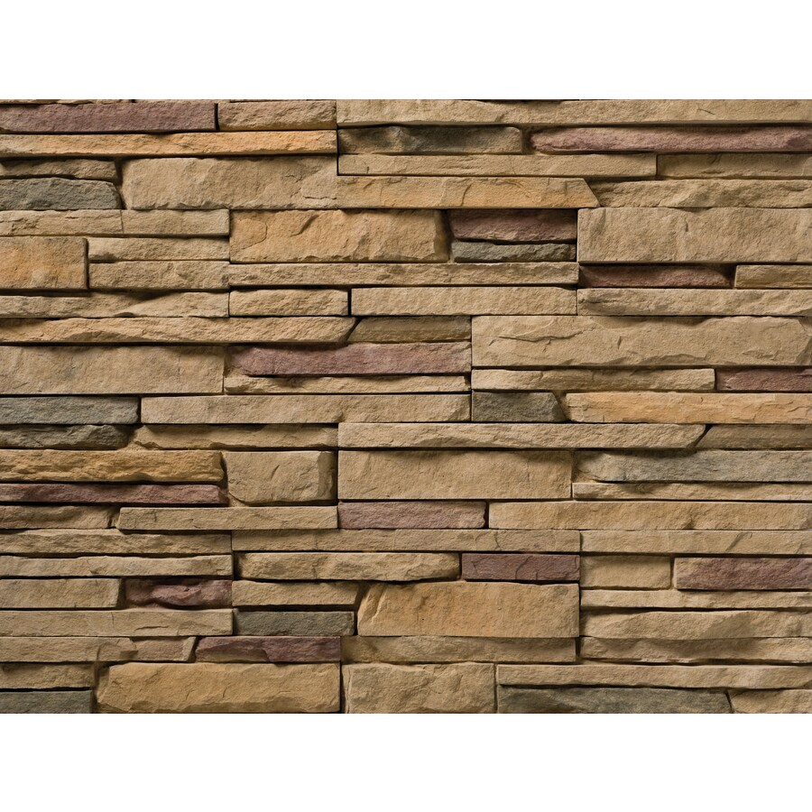 Ply Gem Stone True Stack 10-sq ft Arkose Faux Stone Veneer