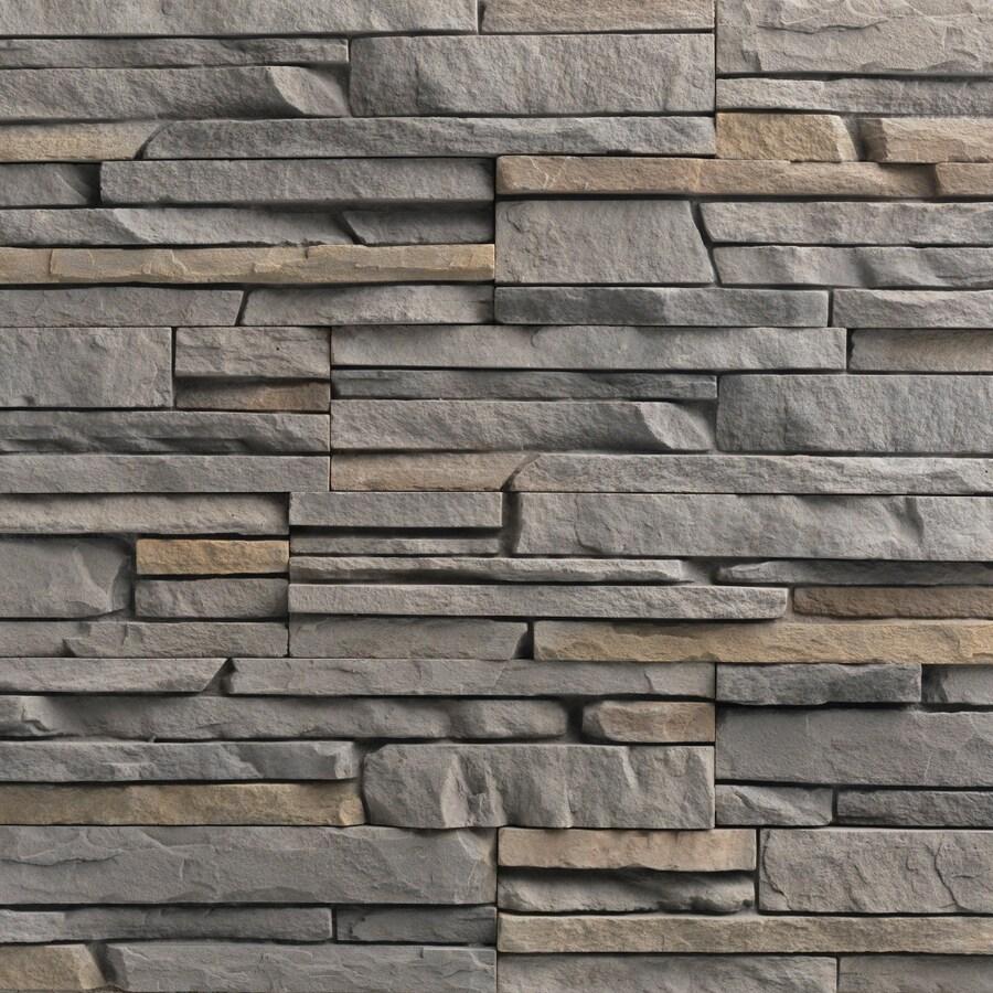 Ply Gem Stone True Stack 10-sq ft Tuscarora Faux Stone Veneer
