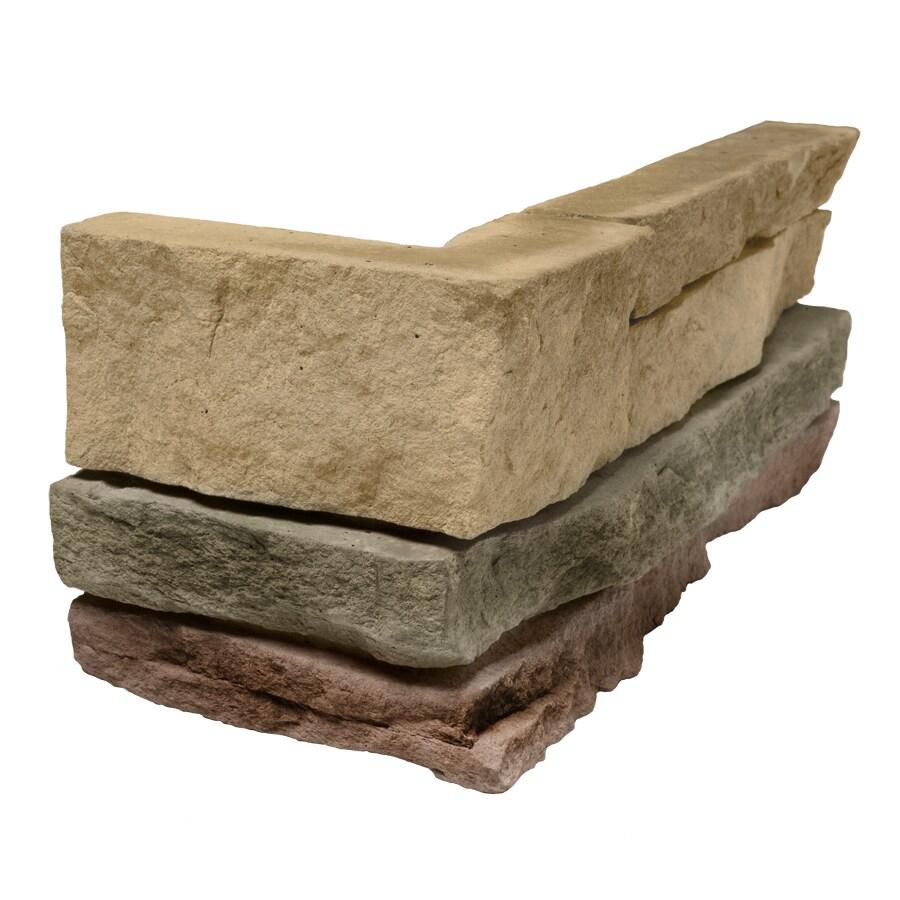 Ply Gem Stone True Stack Arkose Molded Corner Stone Veneer Trim