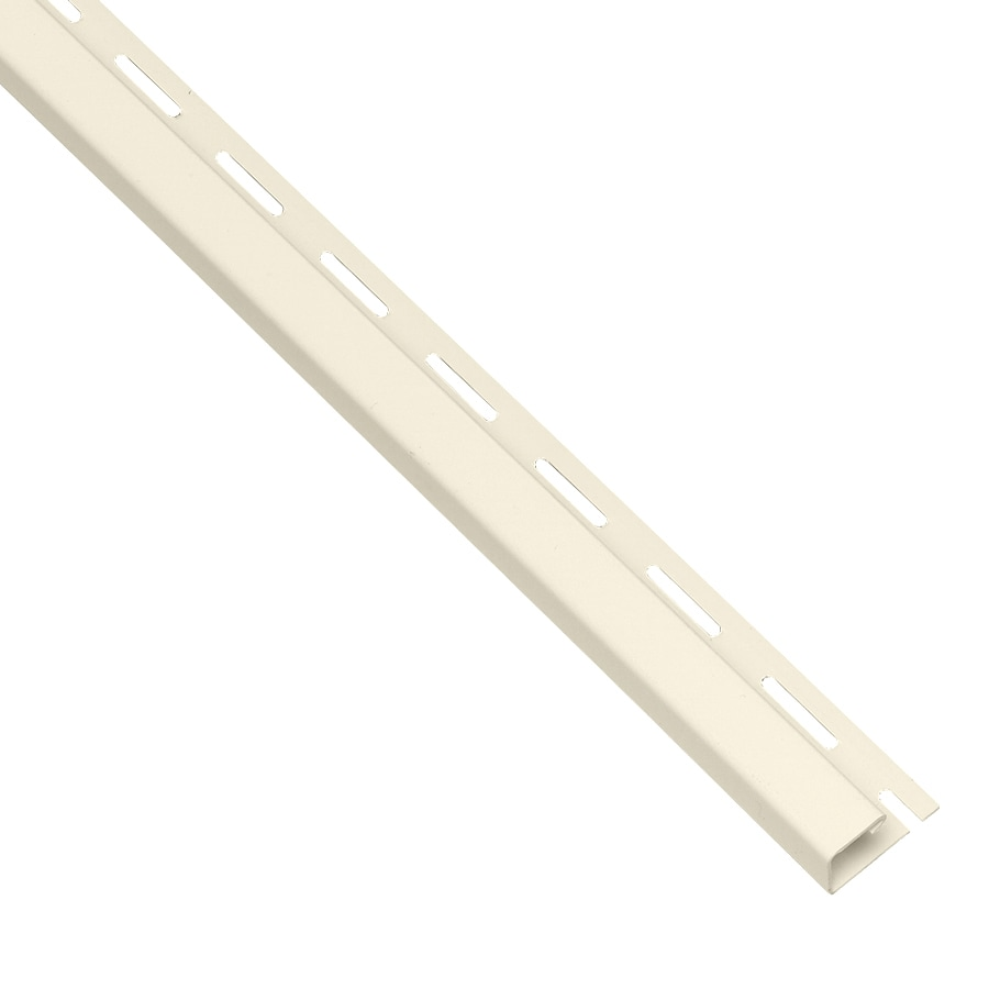 Georgia-Pacific 0.875-in x 150-in Pearl J-Channel Vinyl Siding Trim