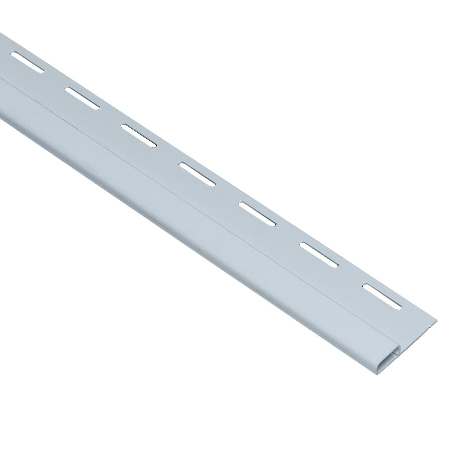 Georgia-Pacific 0.375-in x 150-in Blue Undersill Vinyl Siding Trim