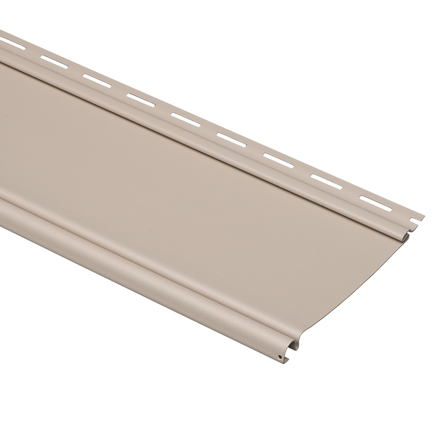 Durabuilt Beaded Beige Vinyl Siding Panel 6.5-in x 148-in