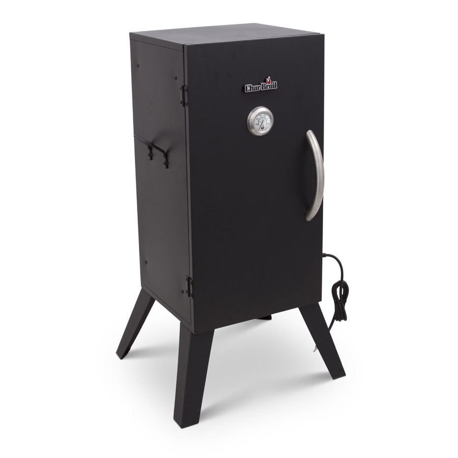 Char-Broil 1500-Watt Black Electric Vertical Smoker (Common: 38-in; Actual: 37.8-in)