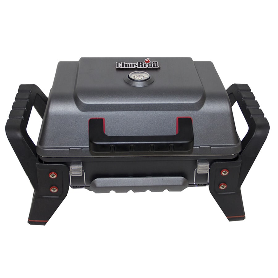 Char-Broil Grill2Go Grey and Black 9,500-BTU 200-sq in Infrared Burner Portable Gas Gril