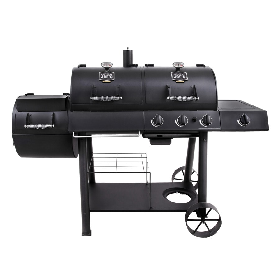 Oklahoma Joe S Black Dual Function Combo Grill
