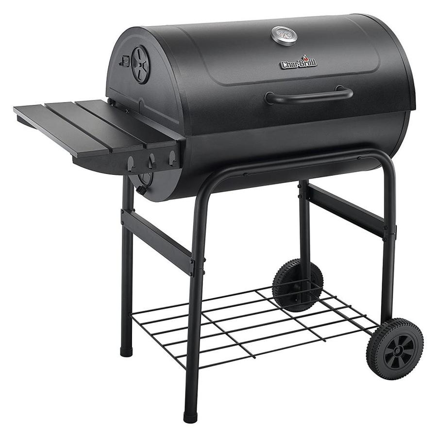 Char-Broil American Gourmet 43.5-in Barrel Charcoal Grill