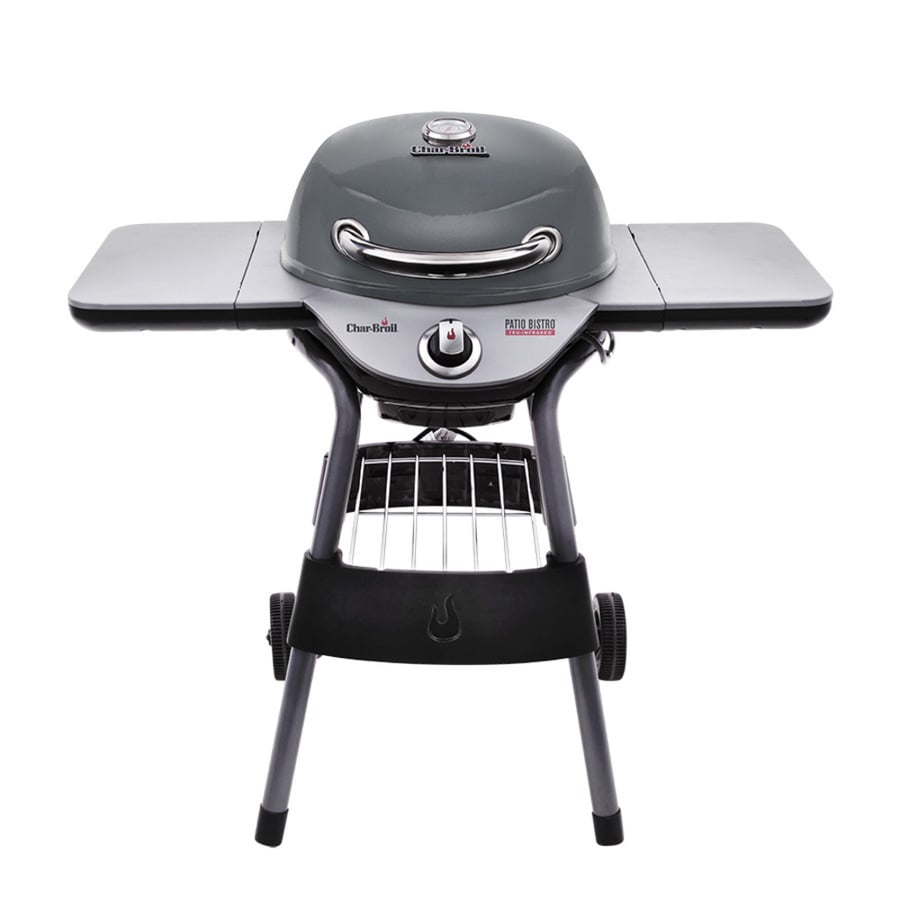 shop char broil patio bistro 1750 watt graphite infrared electric