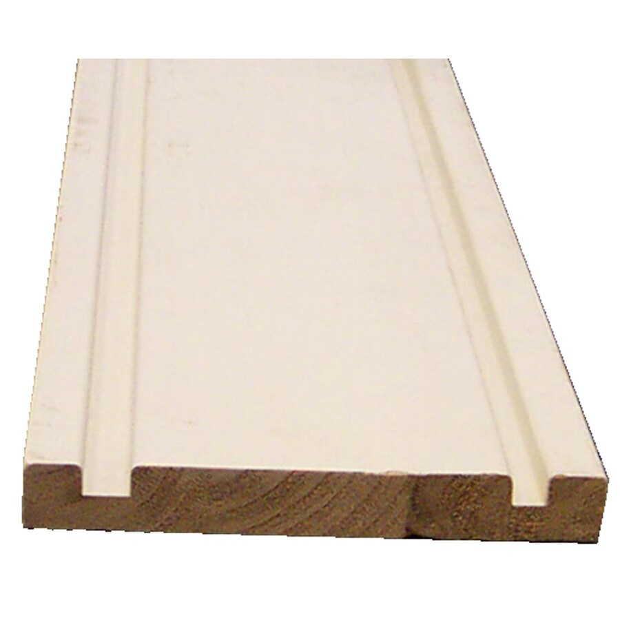 1x6 16 primed fascia grooved at lowes com