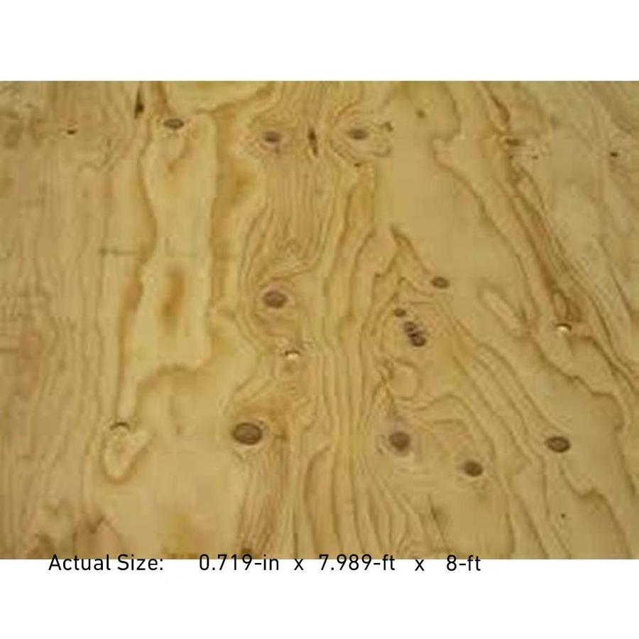 Pyro-Guard 3/4 CAT PS1-09 Pressure Treated Southern Yellow Pine Plywood Sheathing, Application as 4 x 8