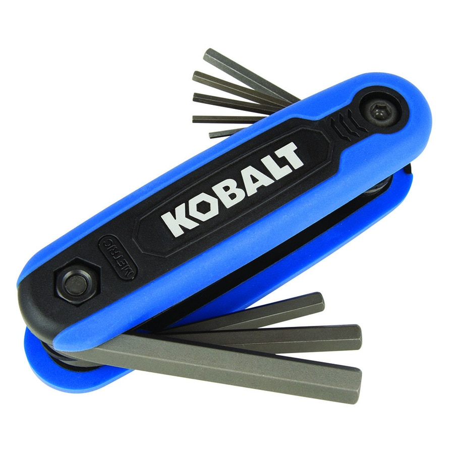 Kobalt 1-Piece Folding Flat End Hex Key