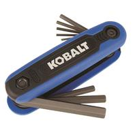 Deals on Kobalt KHK09 8-key Metric Folding Hex Key Set