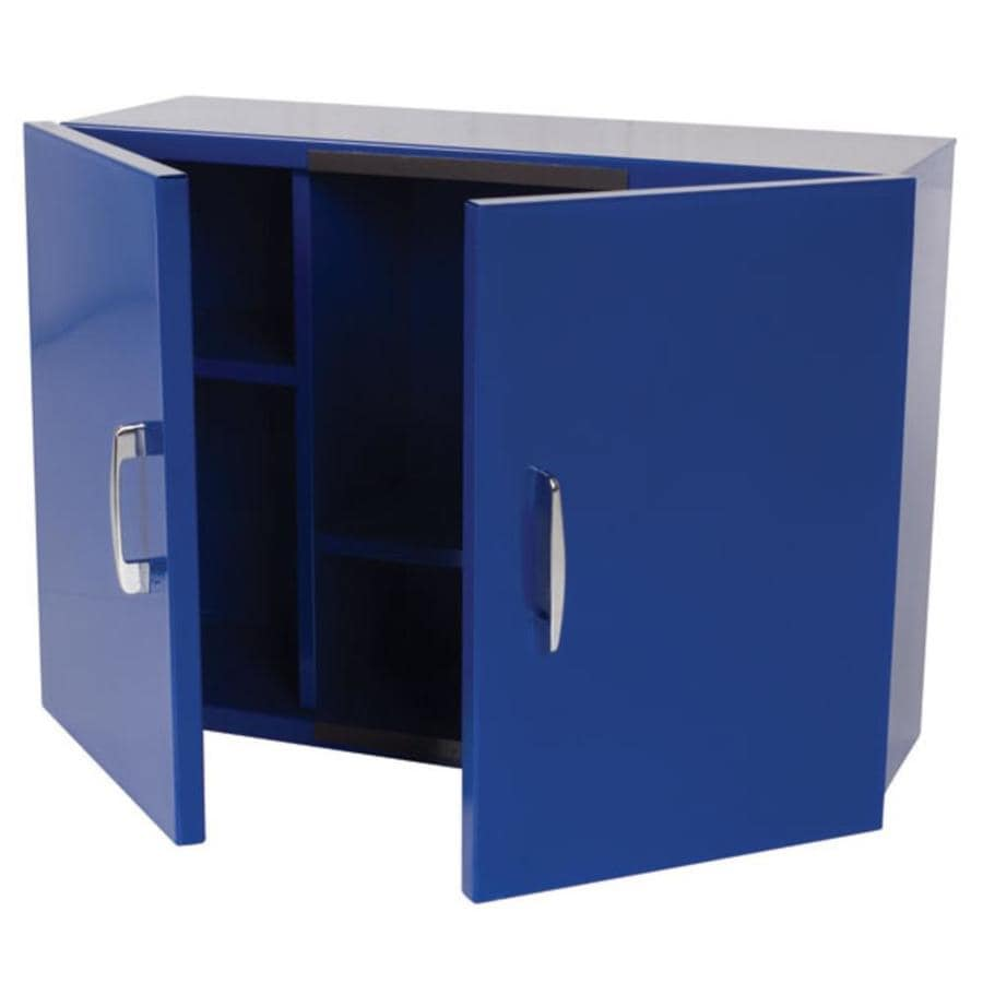 Blue Garage Cabinets Storage Systems At Lowes Com