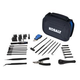 Kobalt Master Hobbyist 73-Piece Steel Hex Shank Screwdriver Bit Set