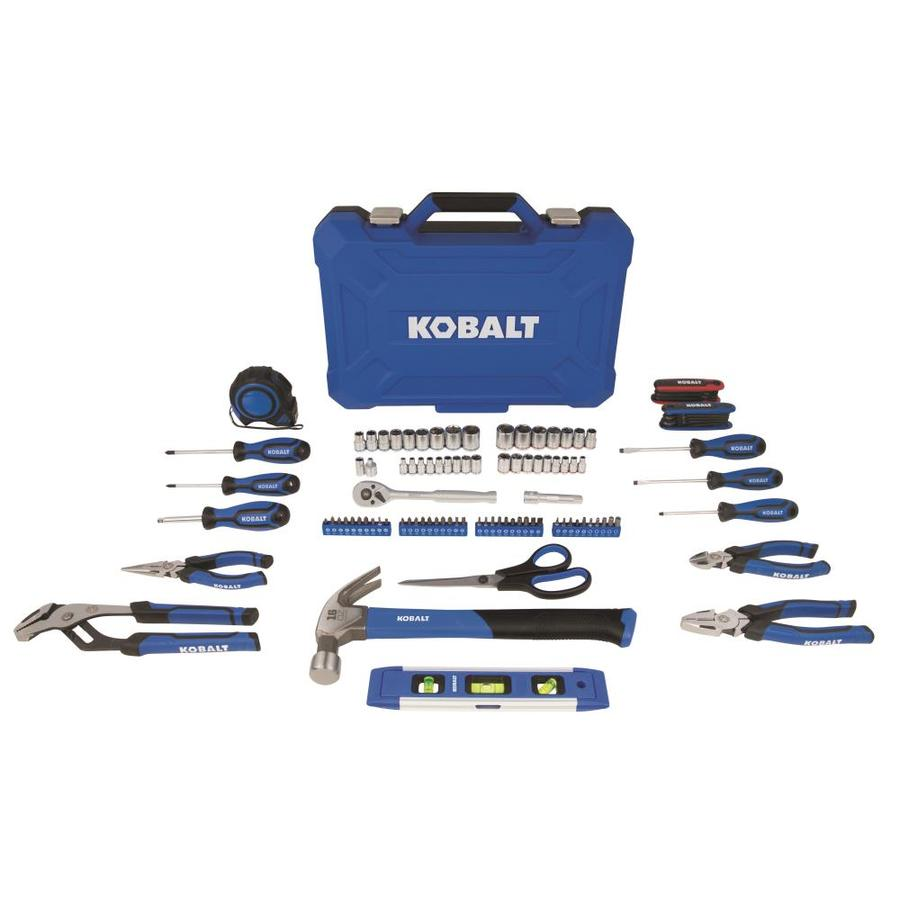 Kobalt 109 Piece Household Tool Set With Hard Case