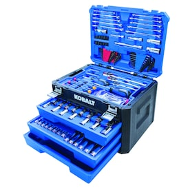 Kobalt 232-Piece Mechanics Tool Set in 3-Drawer Chest