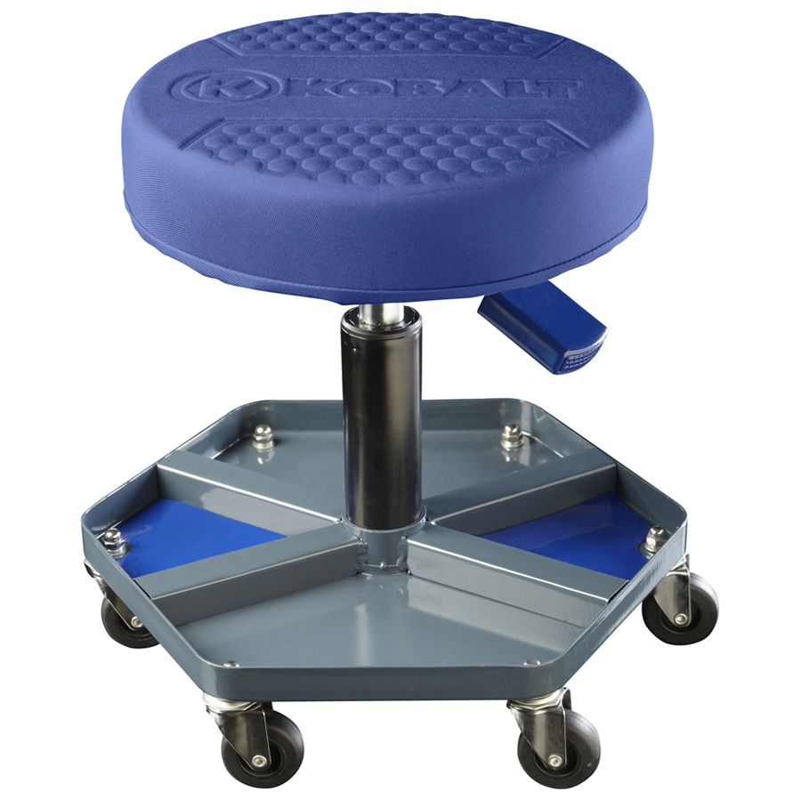 Shop Kobalt Adjustable Shop Stool At Lowes Com