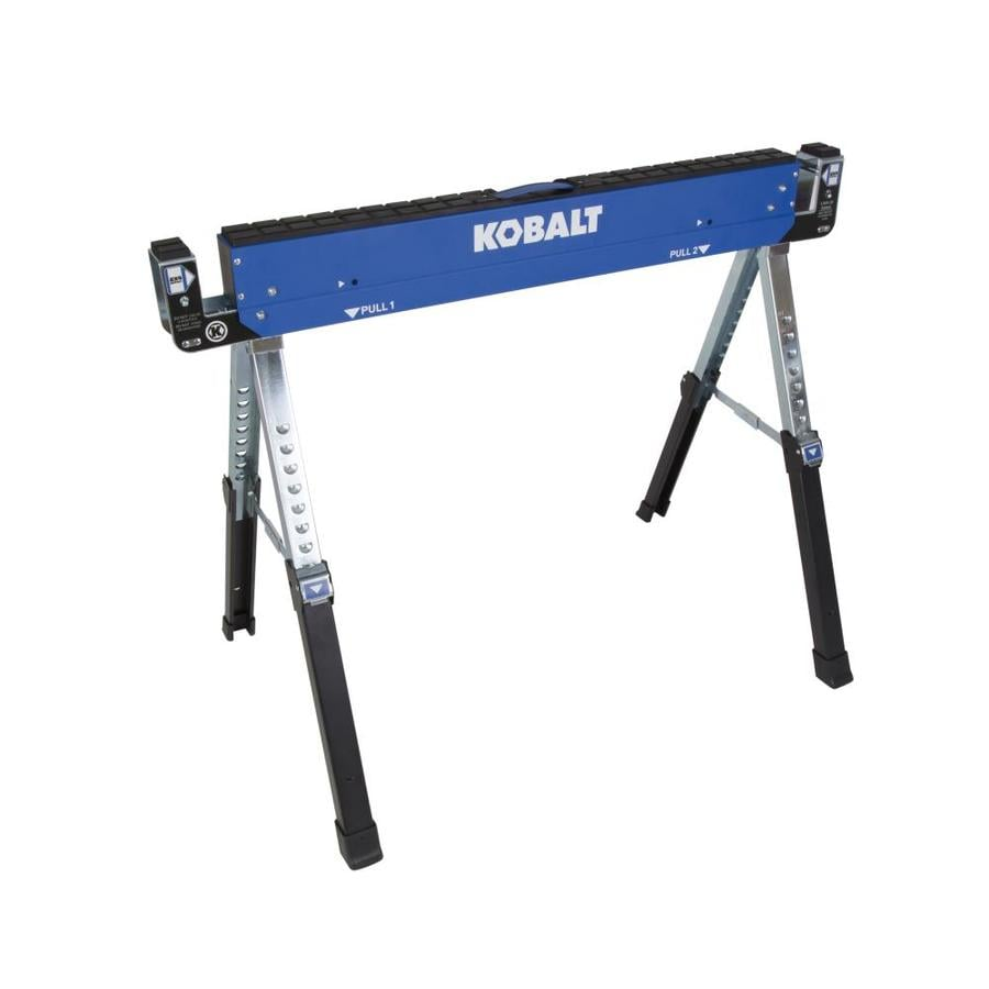 Kobalt 42-in Steel Adjustable Saw Horse (1,300-lb)