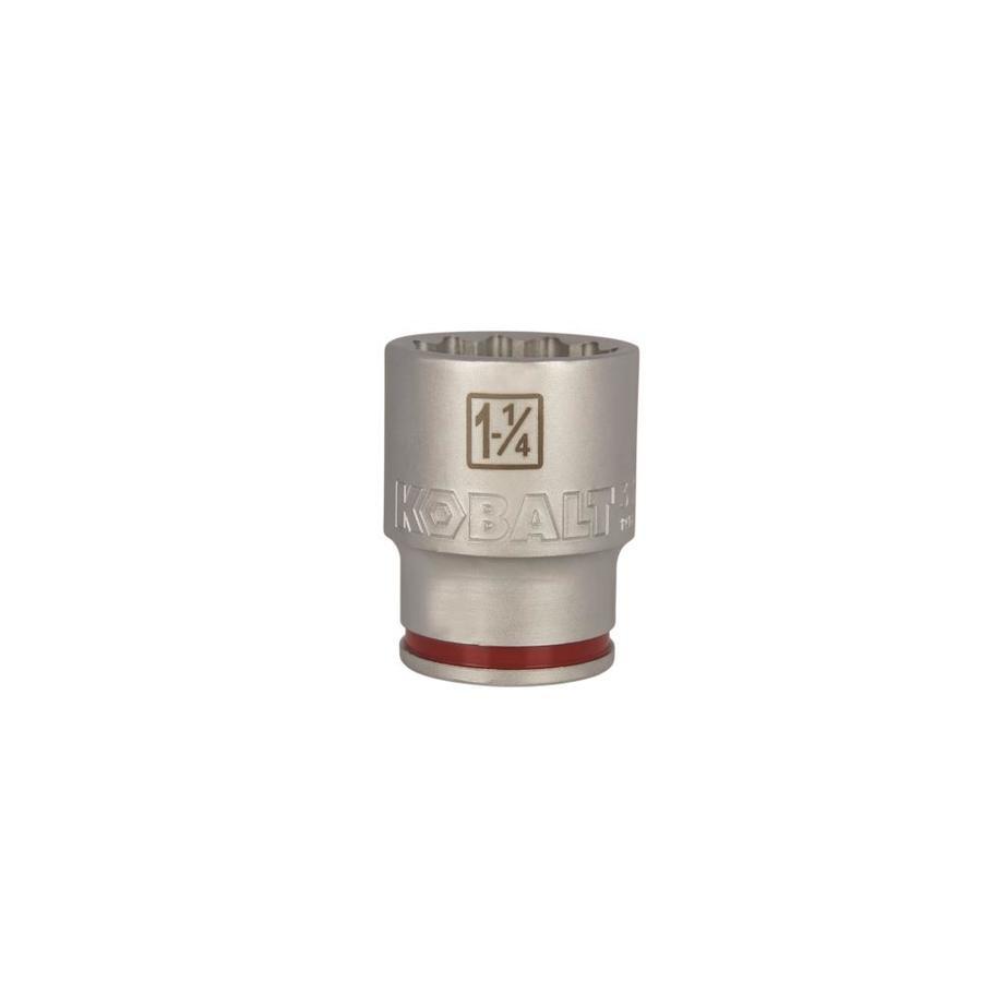 Kobalt 3/4-in Drive 1-1/4-in Shallow 12-Point Standard (SAE) Socket