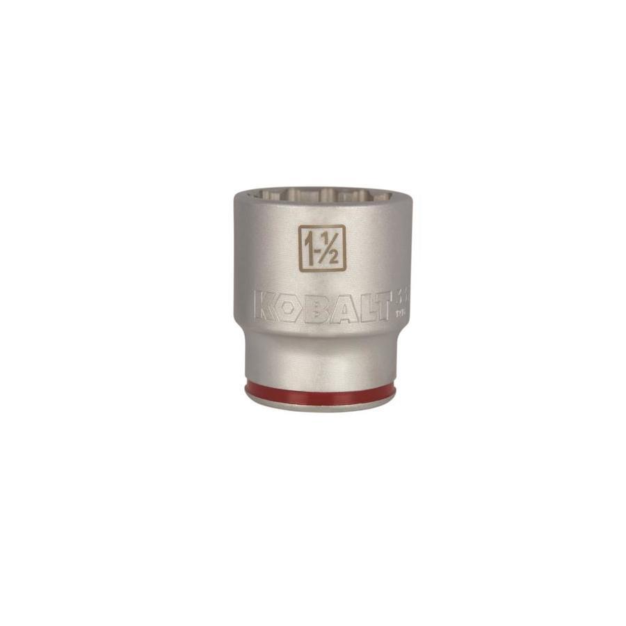 Kobalt 3/4-in Drive 1-1/2-in Shallow 12-Point Standard (SAE) Socket