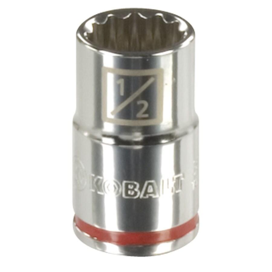 Kobalt 1/2-in Drive 1/2-in Shallow 12-Point Standard (SAE) Socket