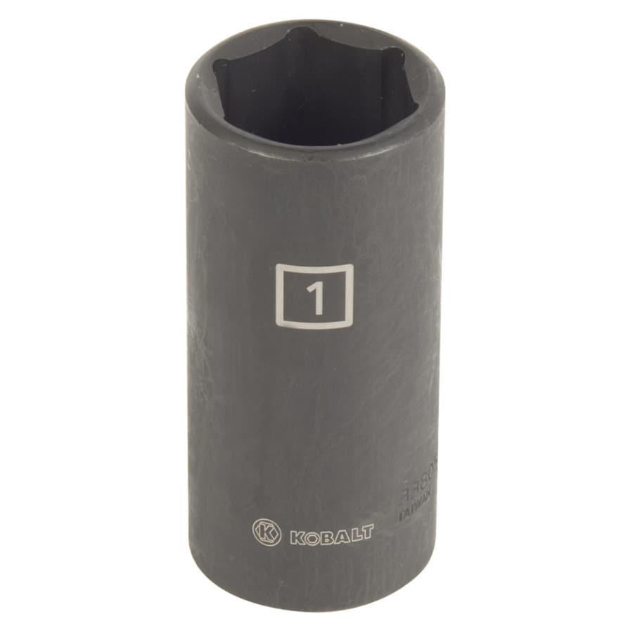 Kobalt 1/2-in Drive 1-in Deep 6-Point Standard (SAE) Impact Socket