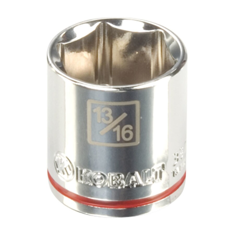 Kobalt 3/8-in Drive 13/16-in Shallow 6-Point Standard (SAE) Socket
