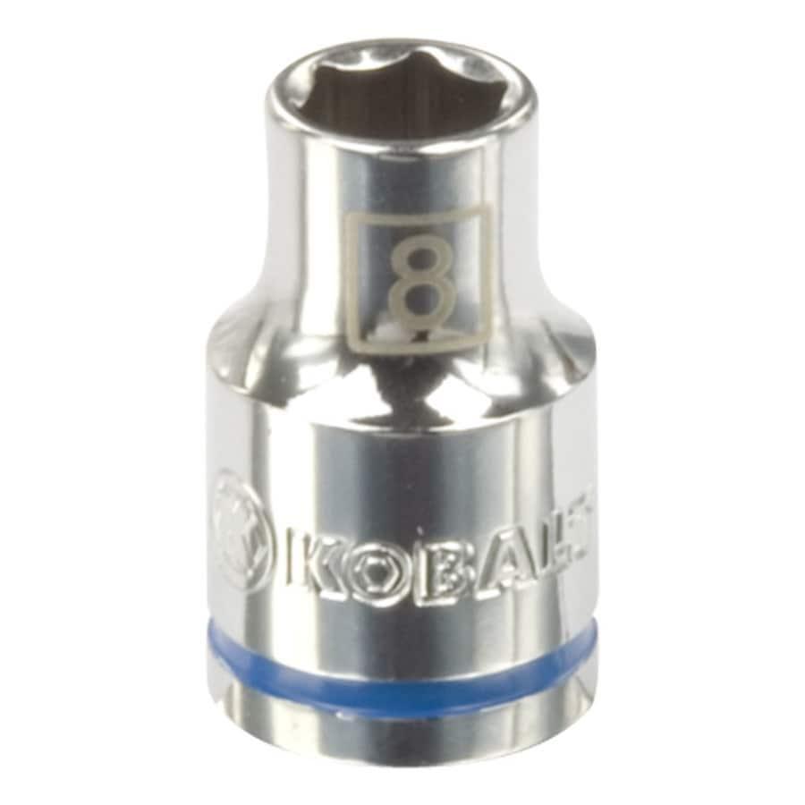 Kobalt 3/8-in Drive 8mm Shallow 6-Point Metric Socket