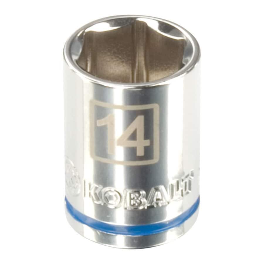 Kobalt 3/8-in Drive 14mm Shallow 6-Point Metric Socket