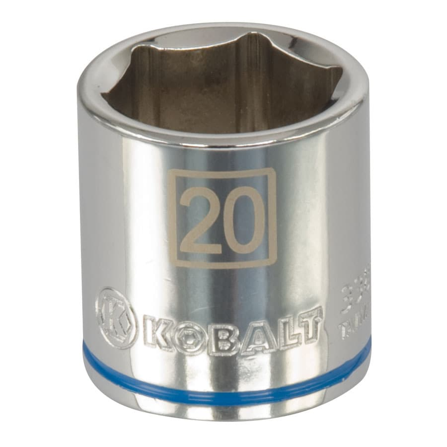 Kobalt 3/8-in Drive 20mm Shallow 6-Point Metric Socket