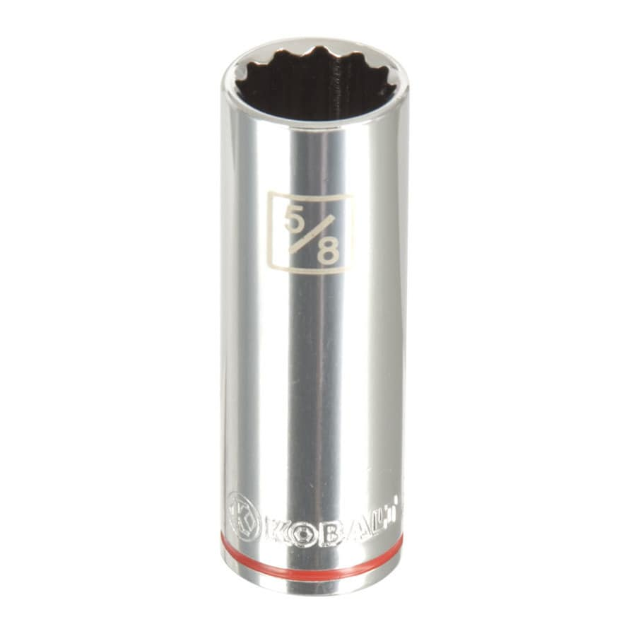 Kobalt 3/8-in Drive 5/8-in Deep 12-Point Standard (SAE) Socket