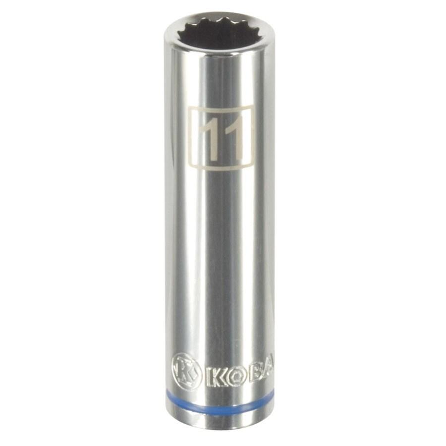 Kobalt 3/8-in Drive 11mm Deep 12-Point Metric Socket