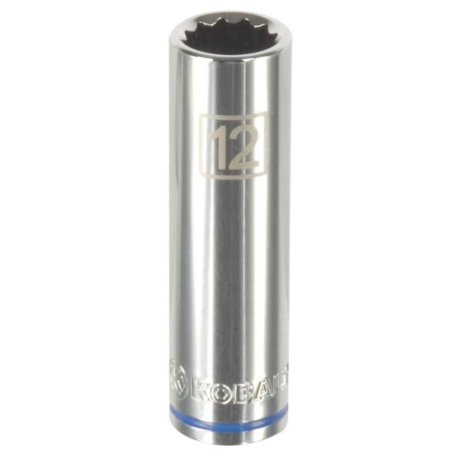 Kobalt 3/8-in Drive 12mm Deep 12-Point Metric Socket