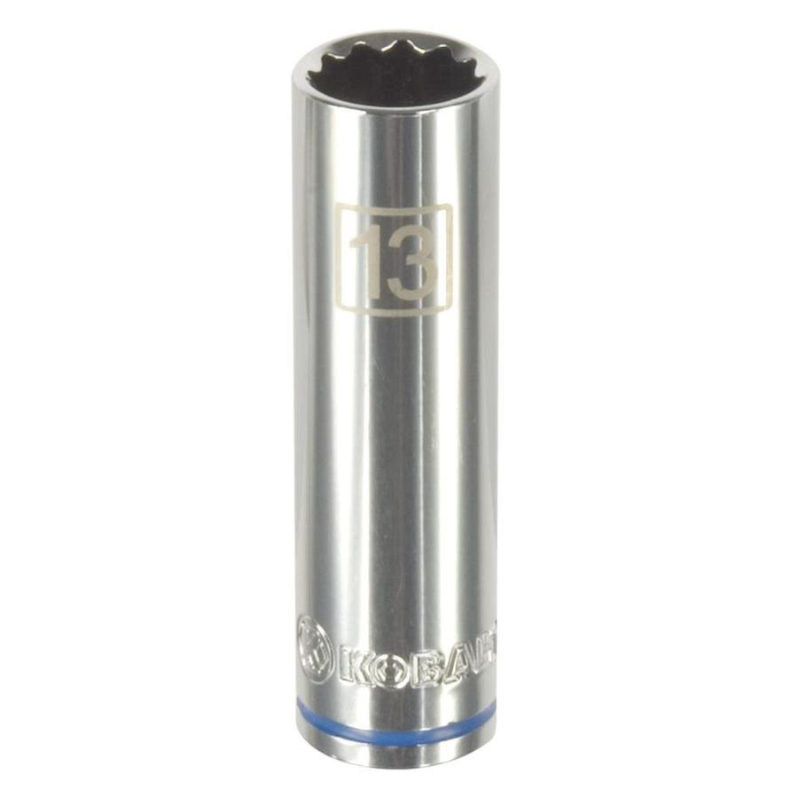 Kobalt 3/8-in Drive 13mm Deep 12-Point Metric Socket