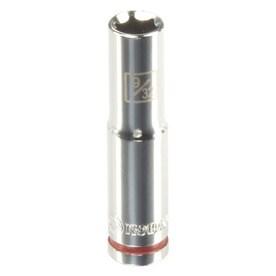 Kobalt Standard (SAE) 1/4-in Drive 6-point 7mm Deep Socket