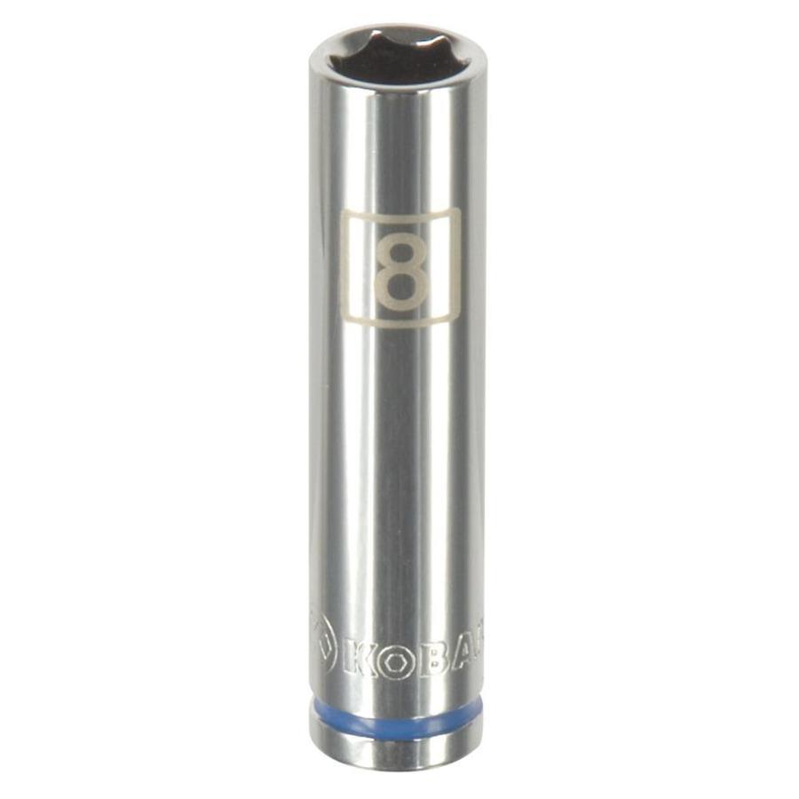 Kobalt 1/4-in Drive 8mm Deep 6-Point Metric Socket