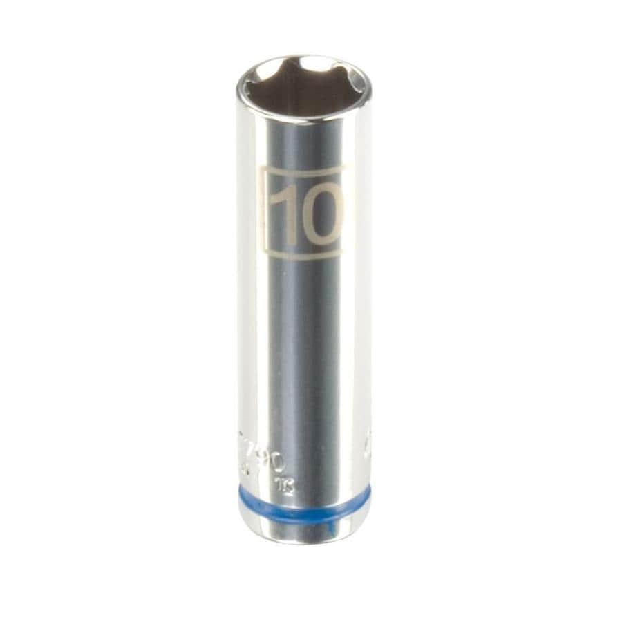 Kobalt 1/4-in Drive 10mm Deep 6-Point Metric Socket