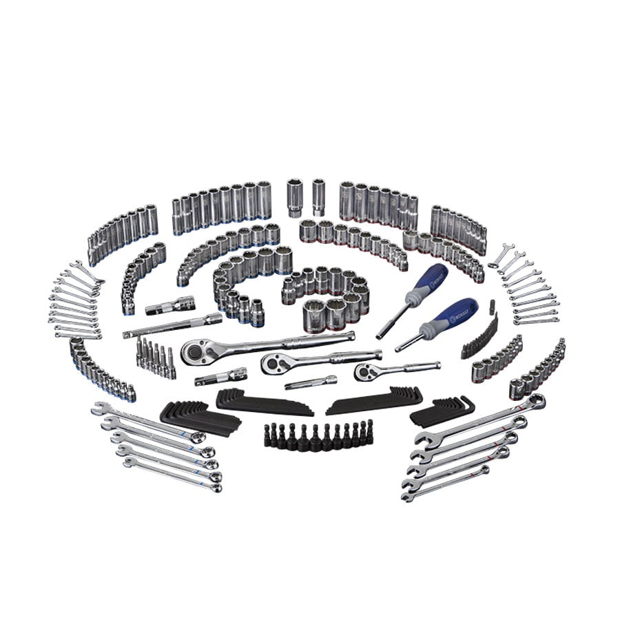 Kobalt 250-Piece Standard/Metric Mechanic's Tool Set