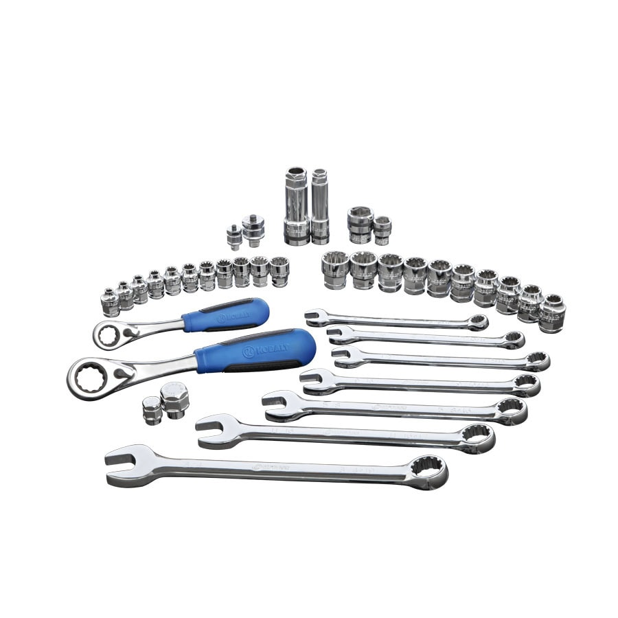 Kobalt 38-Piece Standard (SAE) and Metric Mechanic's Tool Set with Hard Case