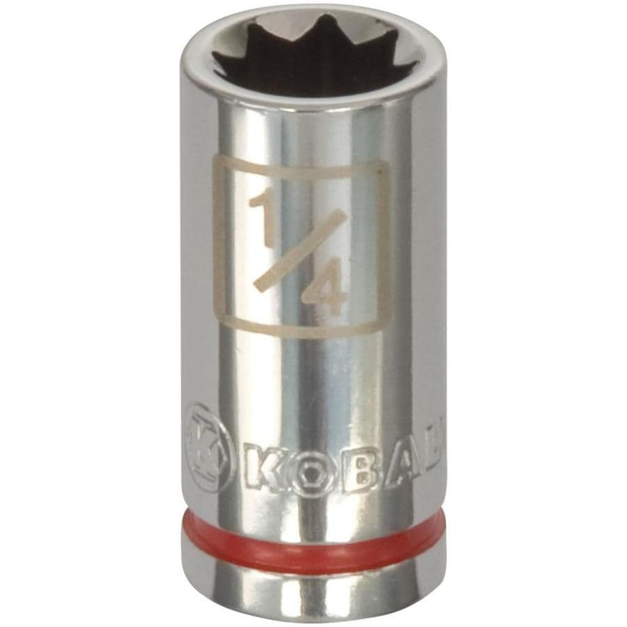 Kobalt 1/4-in Drive 1/4-in Shallow 8-point Standard (SAE) Socket