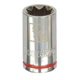 Kobalt Standard (SAE) 1/4-in Drive 8-point 5/16-in Shallow Socket