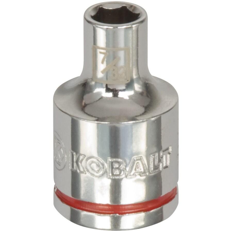 Kobalt 3/8-in Drive 7/32-in Shallow 6-Point Standard (SAE) Socket
