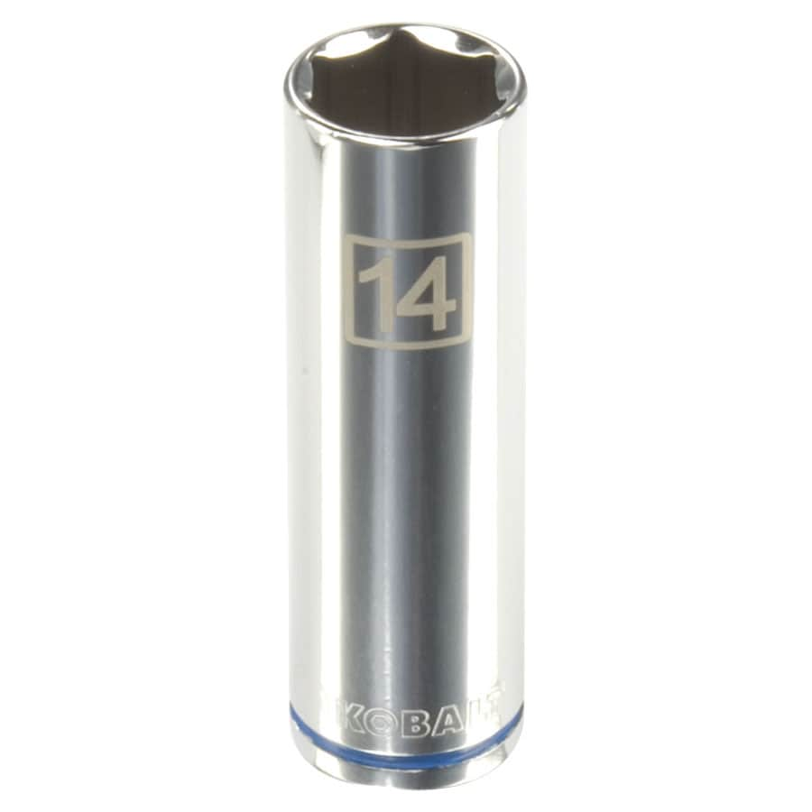 Kobalt 3/8-in Drive 14mm Deep 6-Point Metric Socket