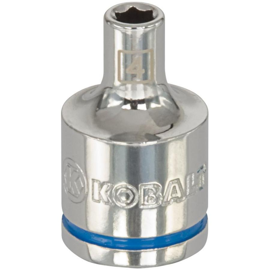 Kobalt 3/8-in Drive 4mm Shallow 6-Point Metric Socket