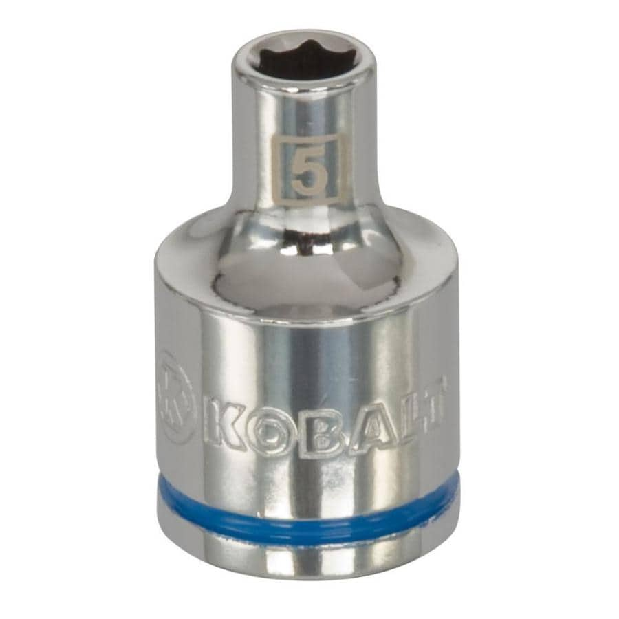 Kobalt 3/8-in Drive 5mm Shallow 6-Point Metric Socket