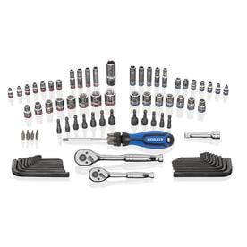 Kobalt 93-Piece Standard (SAE) and Metric Polished Chrome Mechanics Tool Set