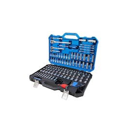 Kobalt 154-Piece Standard (SAE) and Metric Polished Chrome Mechanics Tool Set