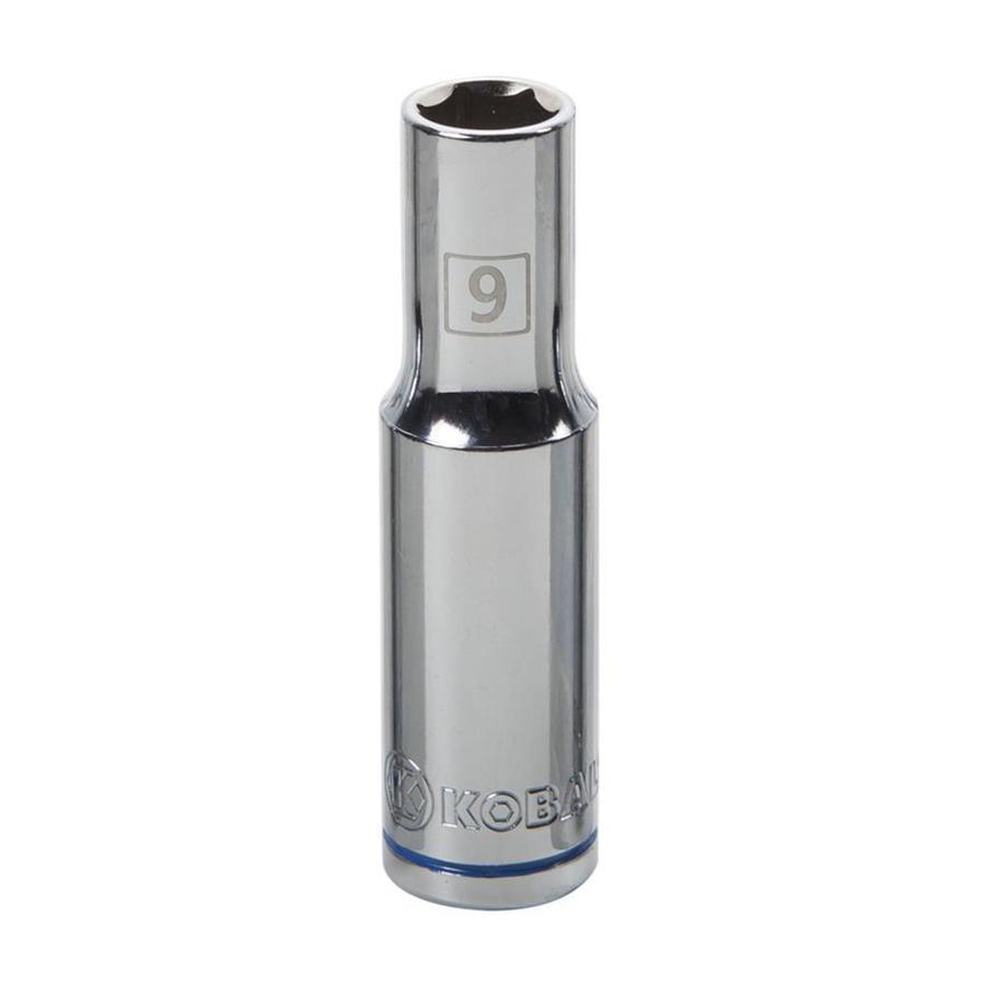 Kobalt 3/8-in Drive 9mm Deep 6-Point Metric Socket