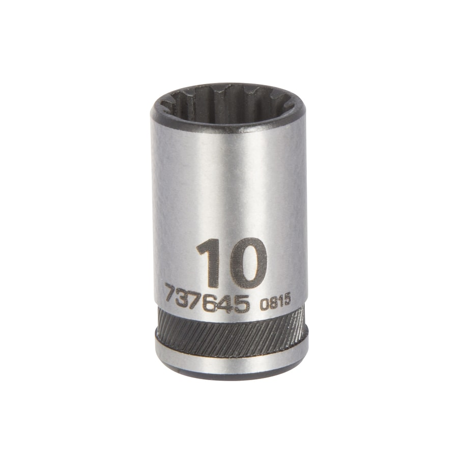 Kobalt Universal 1/4-in Drive 9mm Shallow Spline Metric Socket