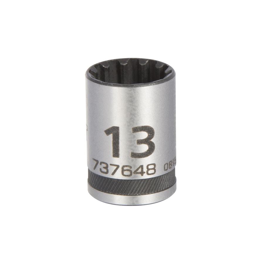 Kobalt Universal 1/4-in Drive 13mm Shallow Spline Metric Socket